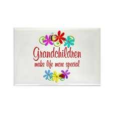 Special Grandchildren Rectangle Magnet