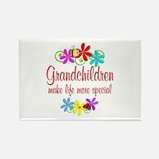 Special Grandchildren Rectangle Magnet (10 pack)