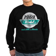 1969 Birthday Vintage Chrome Sweatshirt