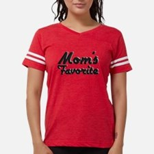 Cute Thanks mom poem mothers day Womens Football Shirt