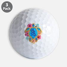 Hawaiian Blue Honu Golf Ball
