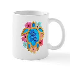 Hawaiian Blue Honu Mugs