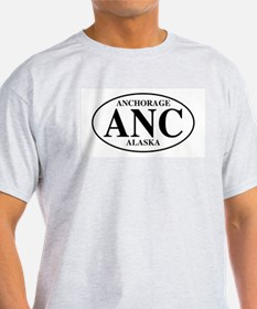Anchorage Ash Grey T-Shirt