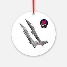 F-15 Eagle Ornament (Round)