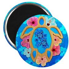 Hawaiian Blue Honu Magnets