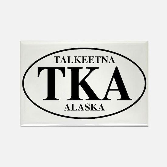 Talkeetna Rectangle Magnet