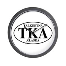 Talkeetna Wall Clock