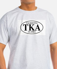 Talkeetna Ash Grey T-Shirt