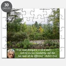 Robert Frost And Quote Puzzle