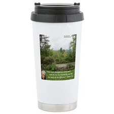 Robert Frost And Quote Travel Mug