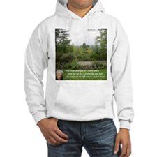 Robert Frost And Quote Hoodie