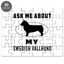 Ask Me About My Swedish Vallhund Puzzle