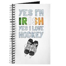 Yes Im Irish, Yes I love Hockey Journal