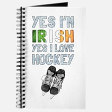 Yes Im Irish, Yes I love Hockey Journal