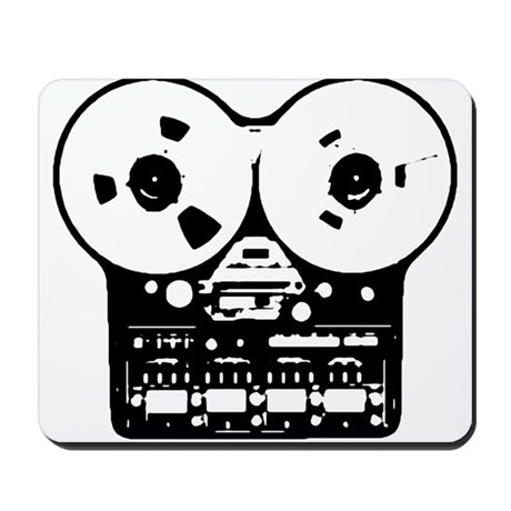 Reel To Reel Mousepad