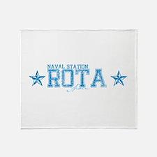 NS Rota Spain Throw Blanket