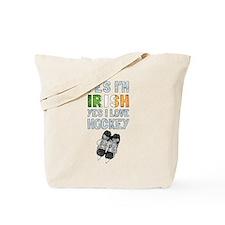 Yes Im Irish, Yes I love Hockey Tote Bag