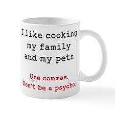 Psycho Grammar Mugs