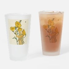 Evening Primrose by Walter Crane Drinking Glass