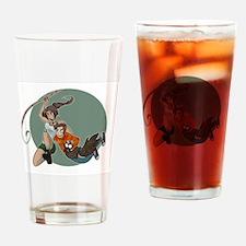 Tomb Raider Edition Drinking Glass