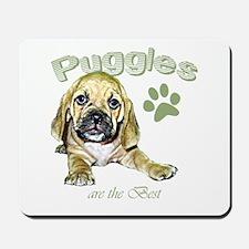The Best Puggle Design Mousepad