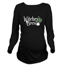 'Witches' Brew' Long Sleeve Maternity T-Shirt
