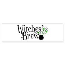 'Witches' Brew' Bumper Sticker