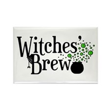 'Witches' Brew' Rectangle Magnet