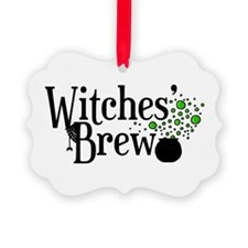 'Witches' Brew' Picture Ornament