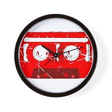 Cassette Tape Retro Wall Clock