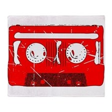 Cassette Tape Retro Throw Blanket