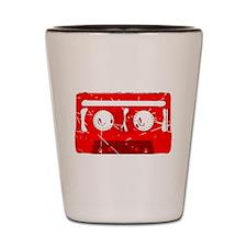 Cassette Tape Retro Shot Glass
