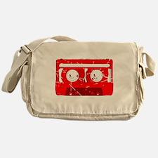 Cassette Tape Retro Messenger Bag