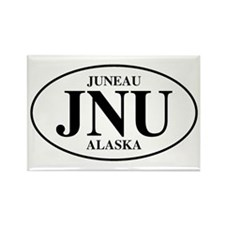 Juneau Rectangle Magnet
