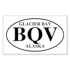 Glacier Bay Rectangle Decal