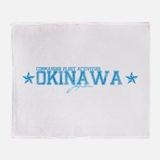 CFA Okinawa Japan Throw Blanket