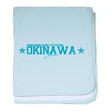 CFA Okinawa Japan baby blanket
