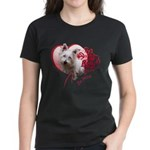 Valentine Terrier Women's Dark T-Shirt