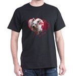 Valentine Terrier Dark T-Shirt