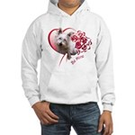Valentine Terrier Hooded Sweatshirt
