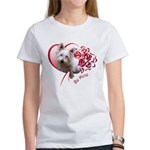 Valentine Terrier Women's T-Shirt