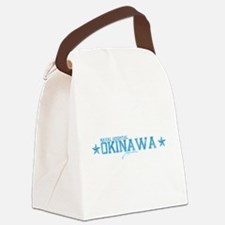 Naval Hospital Okinawa Canvas Lunch Bag