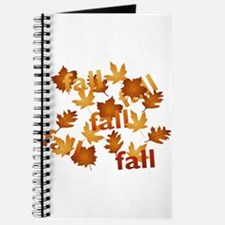 Fall Leaves Journal