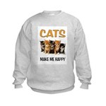 HAPPY CATS Sweatshirt