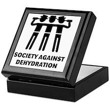 Society Against Dehydration (Black) Keepsake Box