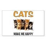HAPPY CATS Sticker
