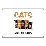 HAPPY CATS Banner