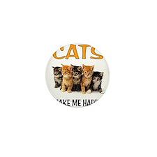HAPPY CATS Mini Button (100 pack)