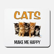 HAPPY CATS Mousepad