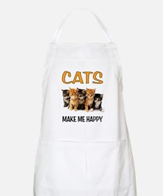 HAPPY CATS Apron
